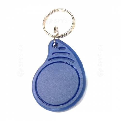 TAG proximitate - tip breloc, albastru, Mifare S50