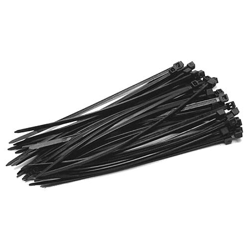 Coliere de plastic NEGRE, 200x3,5 (100 buc.)
