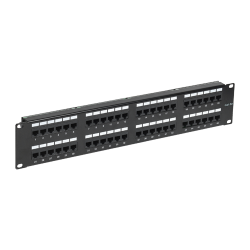 Patch Panel 2U, FTP cat6, 48 porturi RJ45