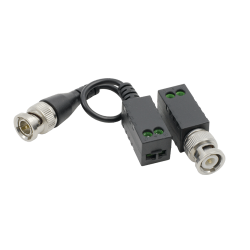 Video balun pasiv HD  (pret/set 2 buc.) - HIKVISION, DS-1H18S-E-E