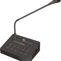 Remote Paging Microphone Console, 10W, 6 zone,T-216